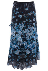 Komarov Midnight Burst Tiered Skirt - Front