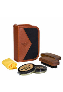 Gentleman's Hardware Charcoal Shoe Shine Kit