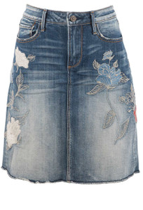 Driftwood Suydi Denim Skirt - Front