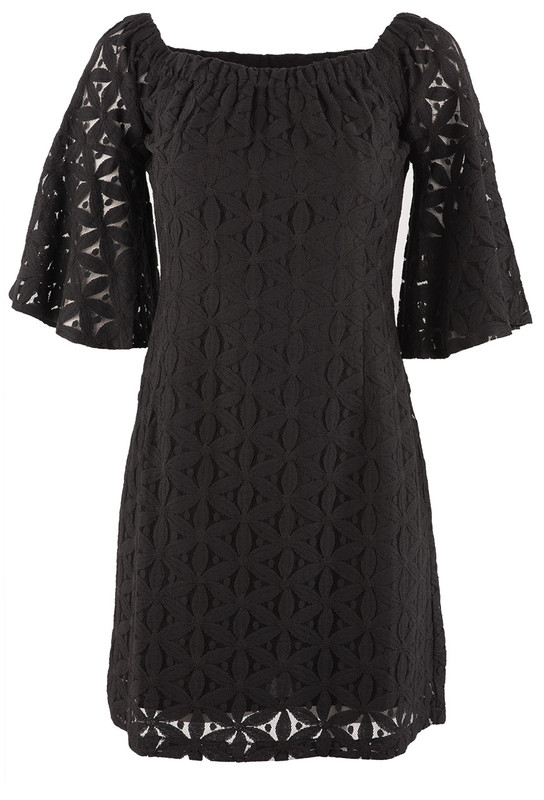 770dba9b79 Jade Women s Black Lace Off The Shoulder Dress - Pinto Ranch