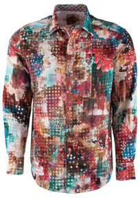 Robert Graham Utopia Multicolor Sport Shirt - Front