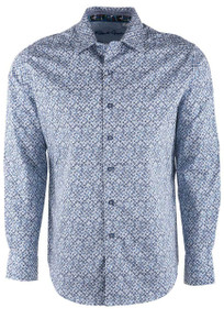 Robert Graham Celadon Blue Sport Shirt - Front