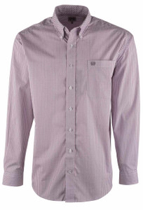 Cinch Lilac Clipper Print Shirt - Front