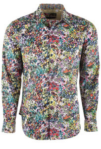 Robert Graham Men's Rallis Floral Sport Shirt - Front