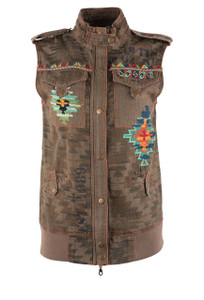 Double D Ranch Monument Valley Vest  - Front