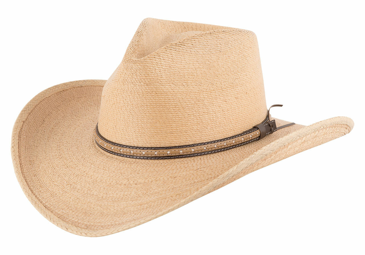 277a75622 Stetson Sawmill Toasted Palm Straw Hat