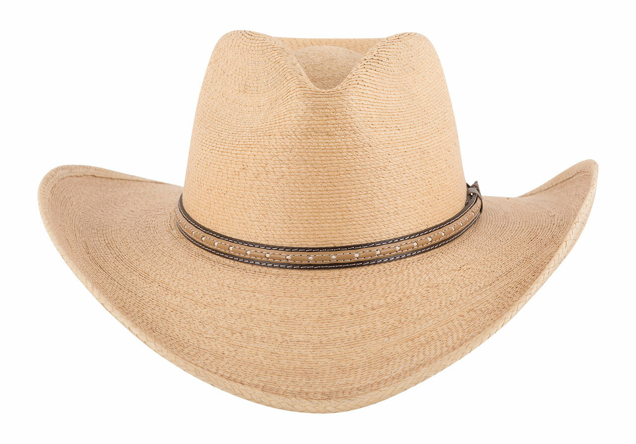 0e7dcdeb8385 Stetson Sawmill Toasted Palm Straw Hat - Pinto Ranch