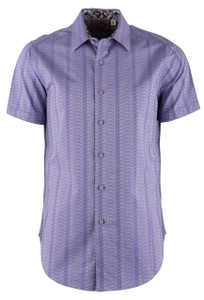 Robert Graham Dyson Short Sleeve Shirt  - Front
