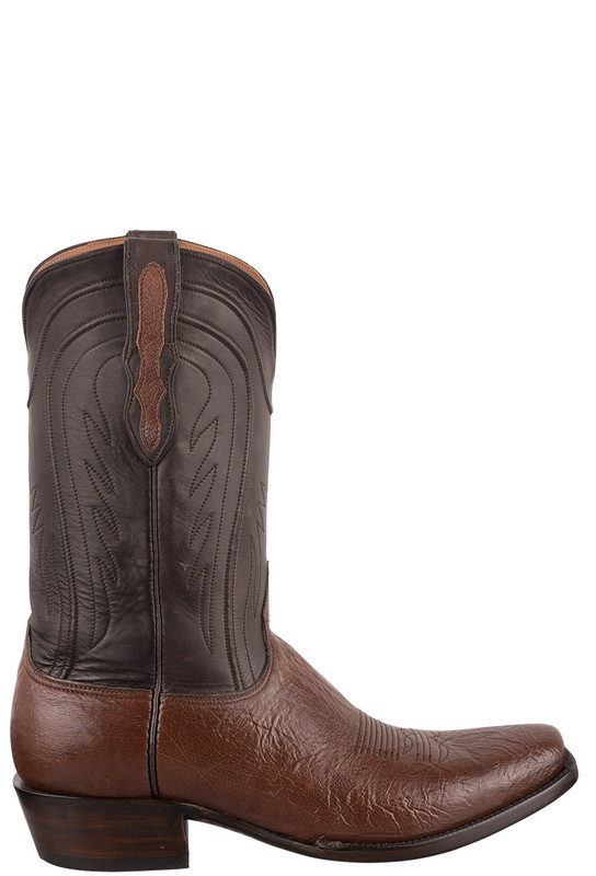Black Jack Exclusive Kango CC Smooth Ostrich Boots - Side