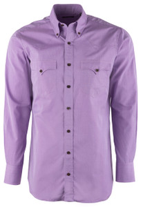 Lyle Lovett Men's Solid Purple Shirt - Front