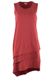 Dylan Women's 3 Tier Tank Dress - Front