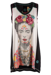 Double D Ranch Frida Kahlo Tank - Front
