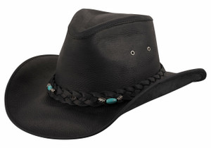 92e719d361f Bullhide Black Royston Leather Hat - Side. Bullhide Bullhide Black Royston  Leather Hat  95.00. Bullhide Yearling Sand Little Cowboy Hat - Hero