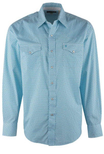 Stetson Blue Ivy Snap Shirt - Front