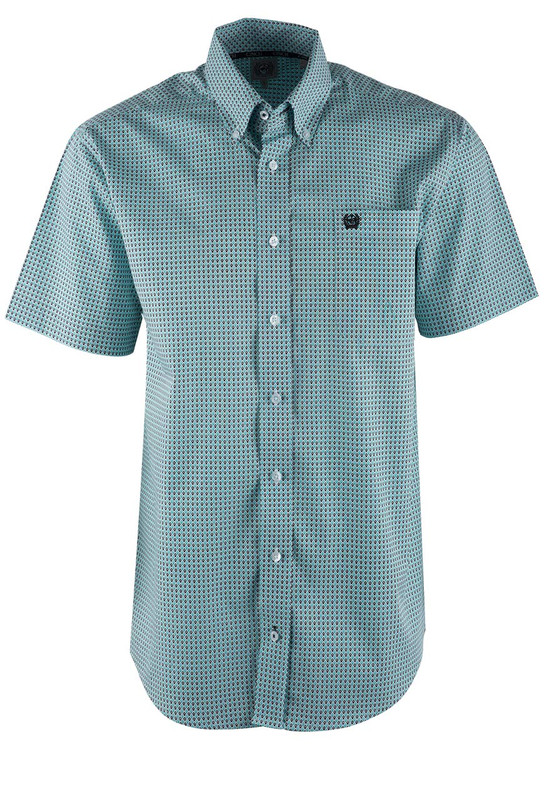 Cinch Multicolor Diamond Sport Shirt - Front