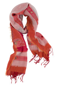 David Jeffrey Air Cotton Shawl - Front