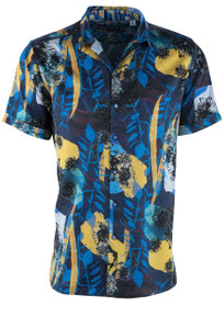 Robert Graham Hercules Short Sleeve Shirt - Front