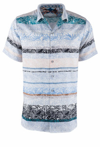 Robert Graham Kipling Short Sleeve Shirt - Front