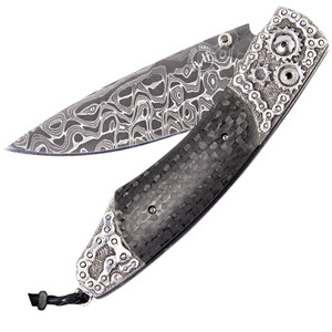 William Henry Spearpoint Chain Break Pocket Knife  - Front