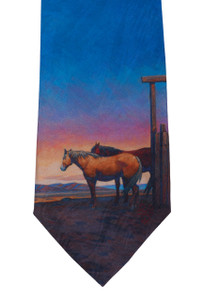 "Rockmount Ltd Edition ""Outside"" Silk Tie"