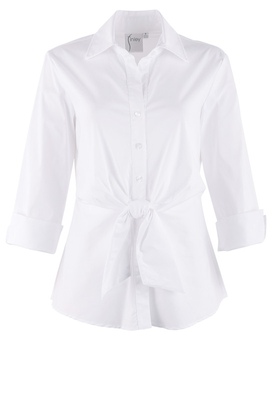 Finley 3/4 Sleeve Walter Top - Front