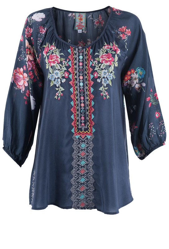 Johnny Was Sheera Blouse - Front