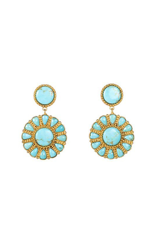 Christina Greene Southwestern Statement Earrings