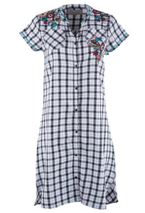 Double D Ranch Atomic Tunic Dress - Front
