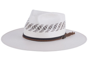 Milano 10X Logan Vented Straw Hat - Side