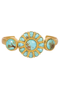 Christina Greene Turquoise Skies Cuff