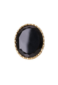 Christina GreeneBlack Onyx Statement Ring