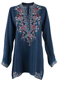 Johnny Was Beatrix Tunic - Front