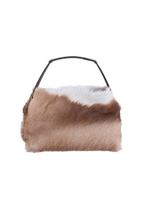 Kulu Springbok Leather Evening Bag - Front