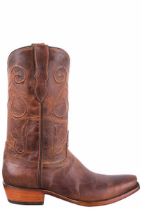 Black Jack Exclusive Peanut Mad Dog Goat Boots - Side