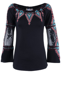 Vintage Collection Tiffany Knit Top - Front