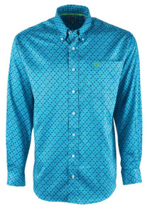 Cinch Lunar Print Tencel Sport Shirt - Front