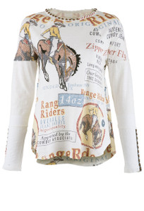 Double D Ranch Range Rider Top - Front