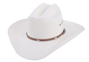Stetson 8X Alamo Straw Hat - Side