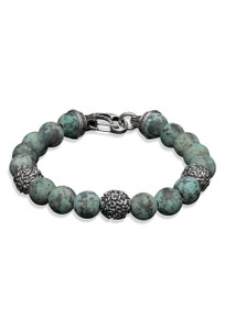 William Henry Verdigris Luxury Bracelet - Front