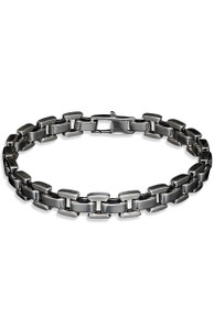 William Henry Sleek Sterling Bracelet - Front