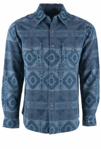 Ryan Michael Men's Glacier Point Blanket Shirt Jacket - Front