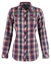 Ryan Michael Women's Ojai Valley Snap Shirt - Front