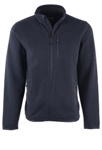 Filson Ridgeway Fleece Jacket Black - Front