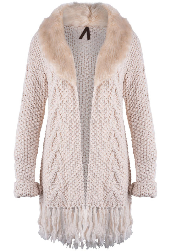 Stetson Women's Cable Knit Cardigan - Front