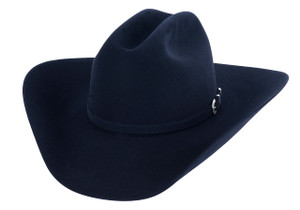 American Hat Co. 40X Felt Hat - Midnight Blue - Front
