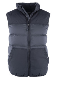 Filson Featherweight Down Vest Faded Black - Front