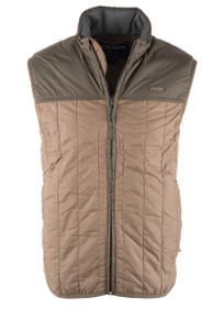 Filson Ultralight Vest Dark Tan  - Front