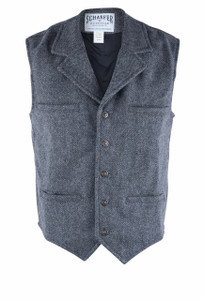Schaefer Outfitter Charcoal McClure Vest - Front