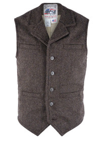Schaefer Outfitter Chocolate McClure Vest - Front