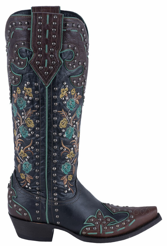 DOUBLE D BY OLD GRINGO ROUND UP ROSIE BOOTS
